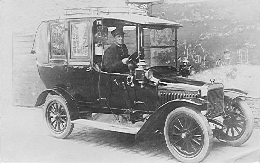 Martin Bode ca. 1915, droschechauffør