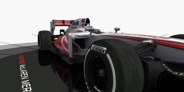 Fjernstyret F1 McLaren